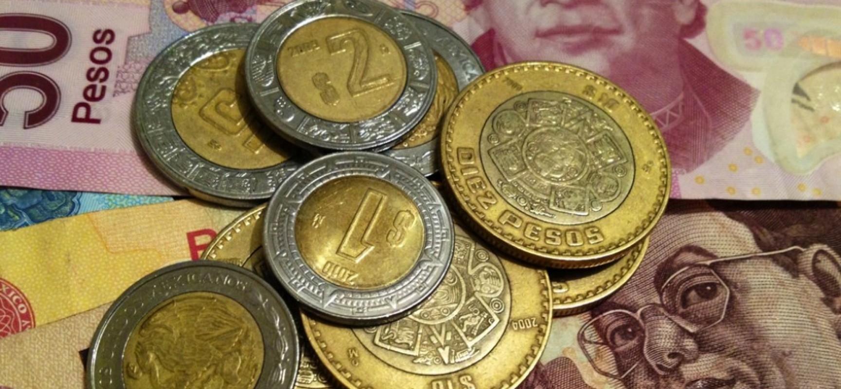 El peso inicia la sesión con una apreciación de 0.33% o 6.4 centavos, cotizando alrededor de 19.14 pesos por dólar
