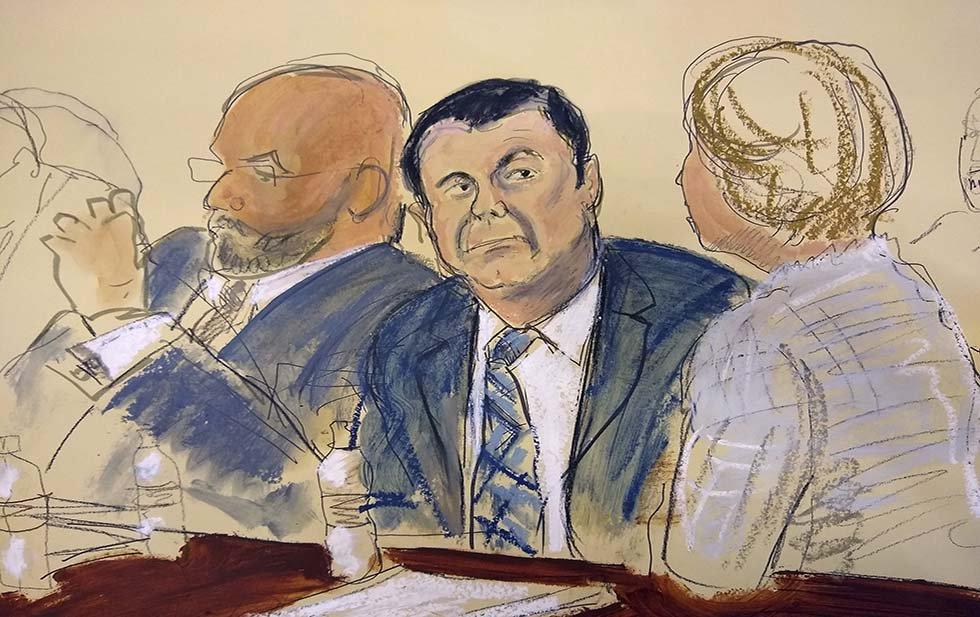 """Me dolería si condenan a cadena perpetua a """"El Chapo"""": Eric del Castillo"""