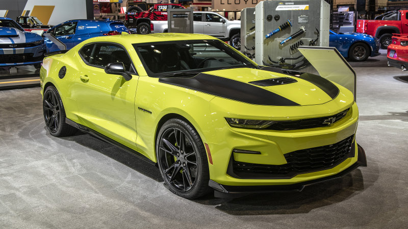 Chevrolet Camaro 2019 Shock Yellow Pilotzi Noticias
