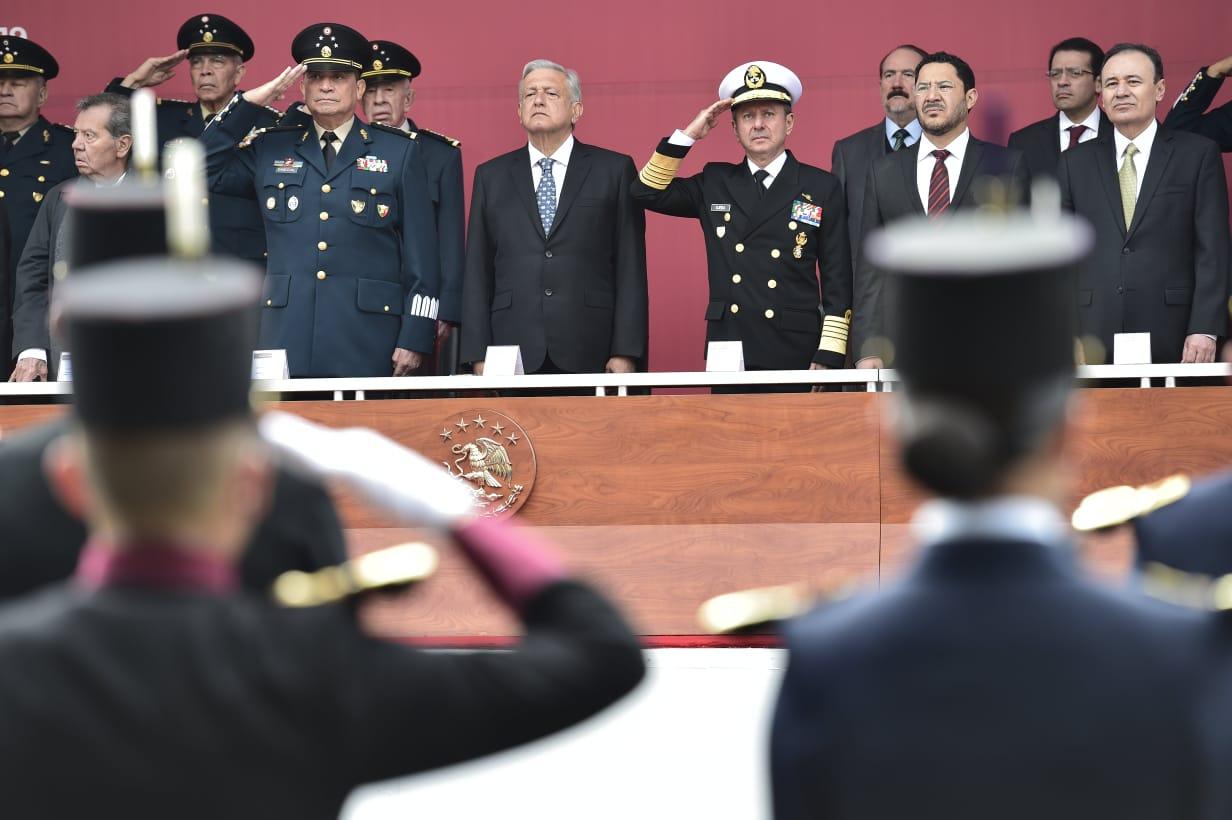 El General Sandoval reitera la lealtad de las fuerzas armadas a López Obrador