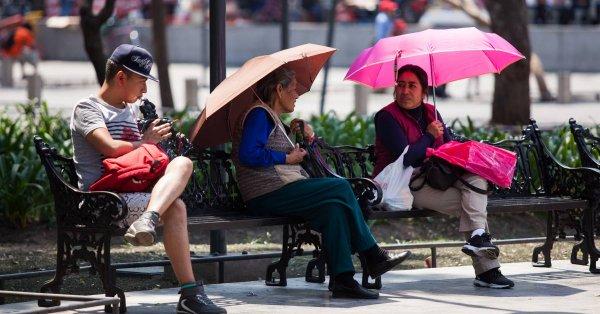 Michoacán, Guerrero, Campeche y Yucatán con más de 45 grados Celsius