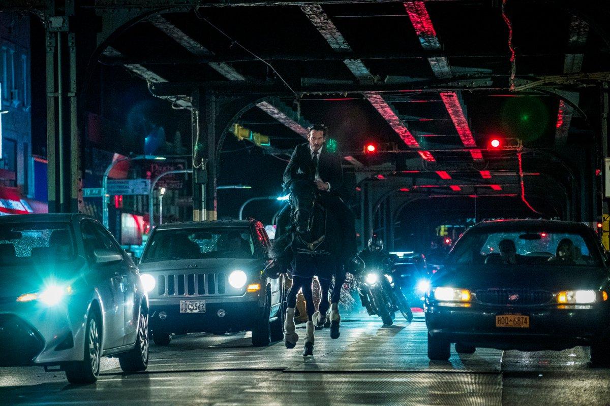 """""""John Wick 3"""" se ha robado los reflectores"""