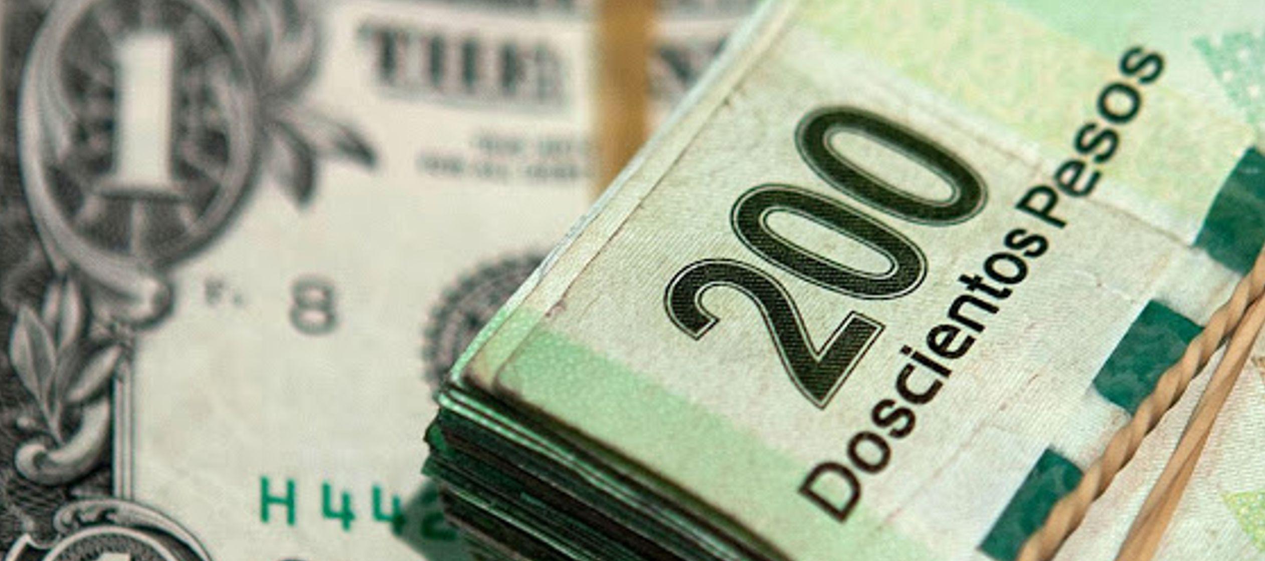 El peso inicia la sesión con una depreciación de 0.39% o 7.5 centavos