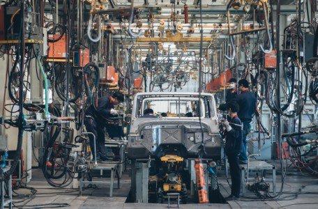 La Producción Industrial se recupera en abril