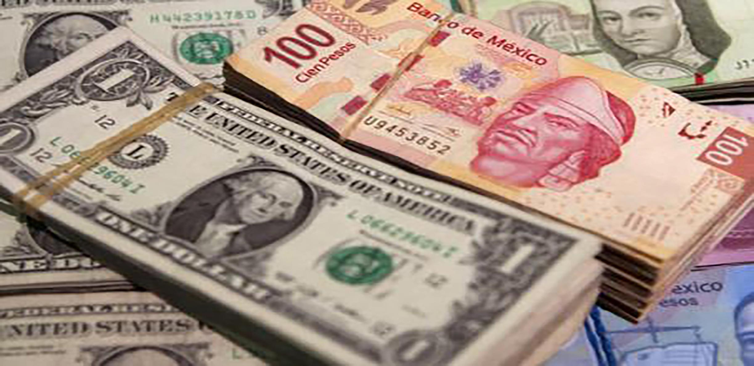 El peso inicia la sesión con una apreciación de 0.41% o 7.7 centavos, cotizando alrededor de 18.94 pesos por dólar