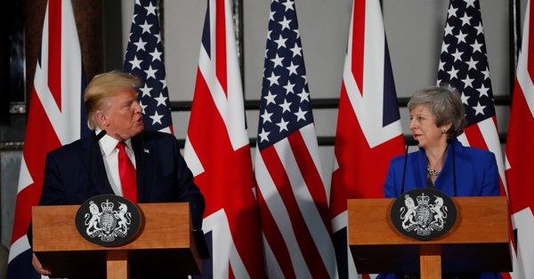 """""""Trumpearon"""" a Reino Unido"""