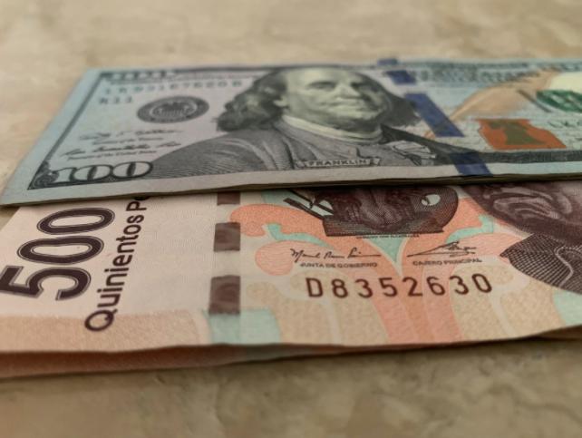 El peso inicia la sesión con una apreciación de 0.18% o 3.6 centavos, cotizando alrededor de 19.59 pesos por dólar