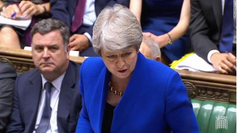 ¡Hasta pronto, Theresa May!