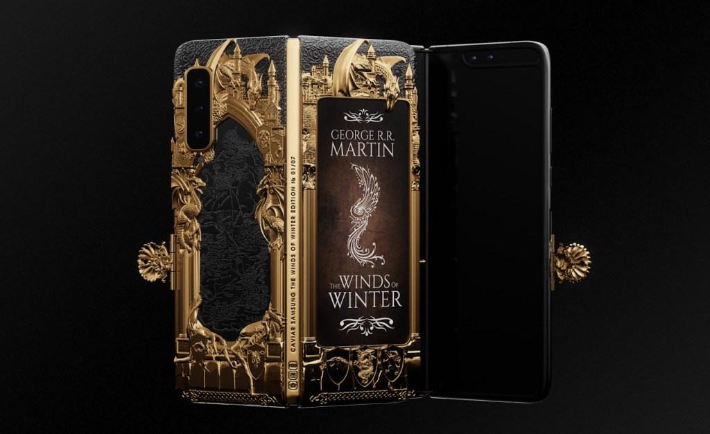 Galaxy Fold con grabados en oro de Game of Thrones