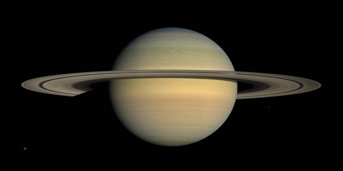 Saturno ya tiene más lunas que Júpiter